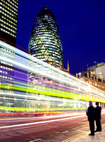 Gherkin Light Trails
