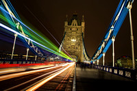 Tower Bridge Light Trails